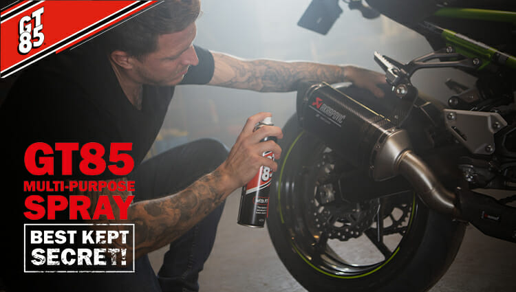 GT85 – Must-follow motorcycle cleaning tips