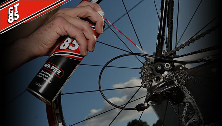 10 ways to use GT85 bike spray on your bike