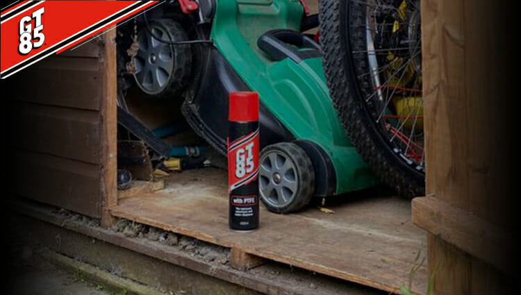 GT85 – THE MULTI-PURPOSE SPRAY FOR YOUR OUTDOOR PROJECTS